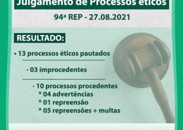 CREFITO-1 realiza reunião para julgamento de processos éticos